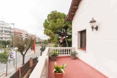 Unique house in modernist style in a suburb of Barcelona,Esplugues de Llobregat